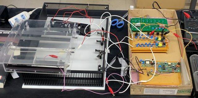 紫外線オゾンユニット開発中